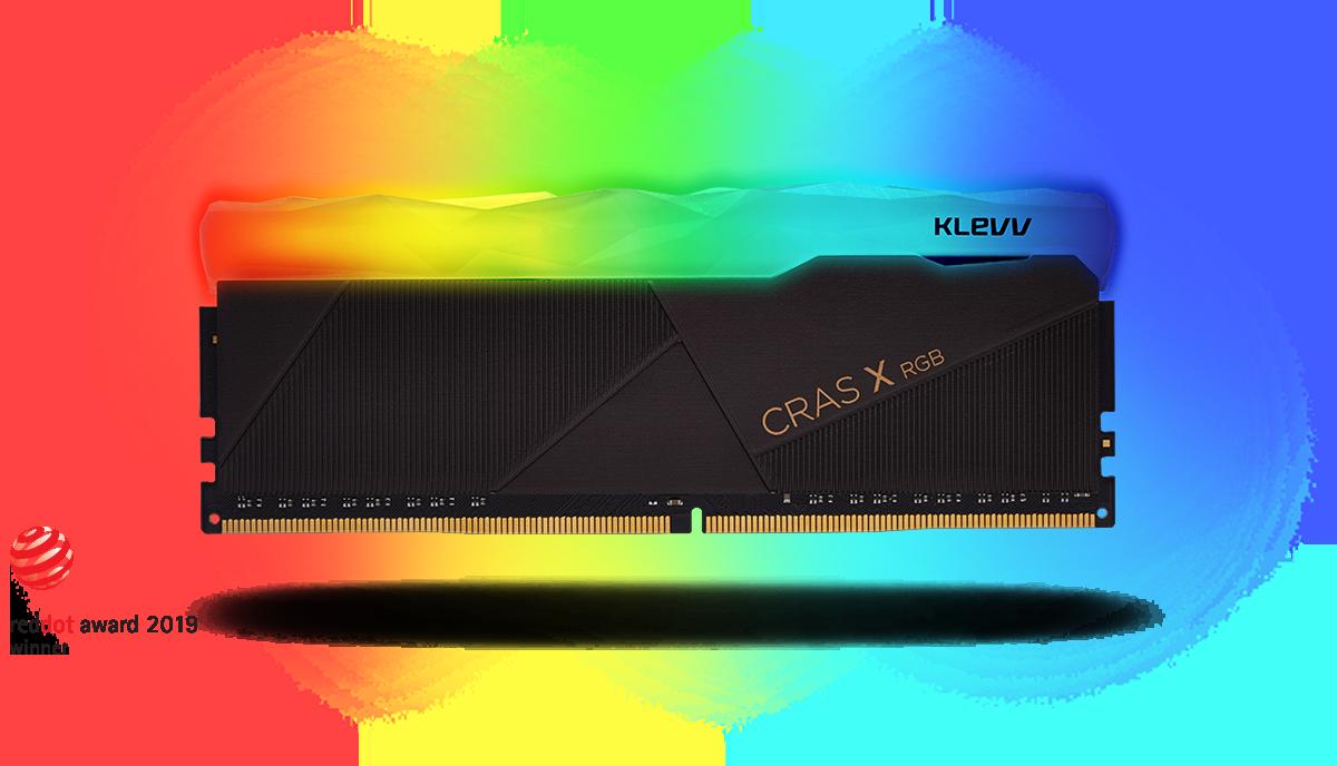 Klevv CRAS X RGB 16GB (2x8GB) DDR4 Gaming RAM 3600MHz 11