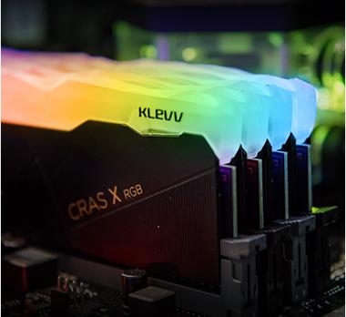 Klevv CRAS X RGB 16GB (2x8GB) DDR4 Gaming RAM 3600MHz 16