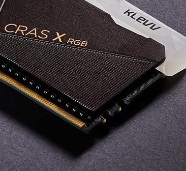 Klevv CRAS X RGB 16GB (2x8GB) DDR4 Gaming RAM 3600MHz 17