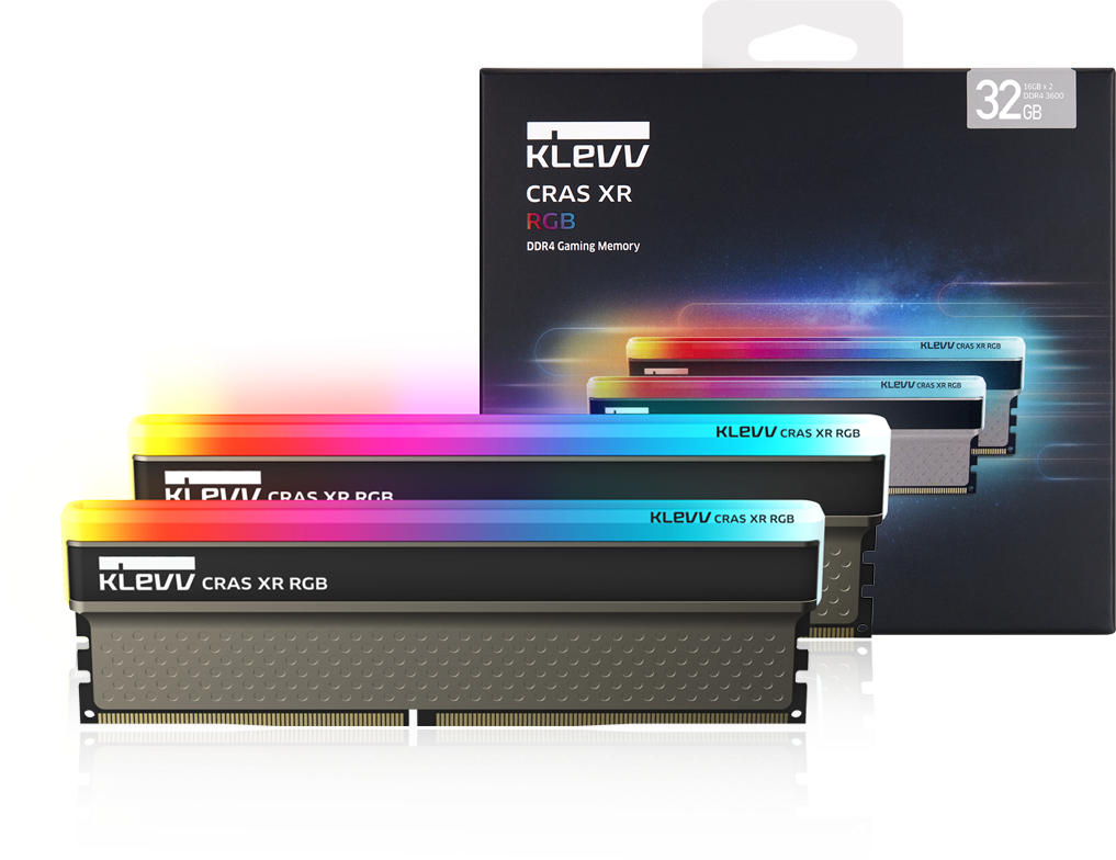 Klevv Cras XR 16GB DDR4 U-DIMM 4000Mhz OC/Gaming memory 19
